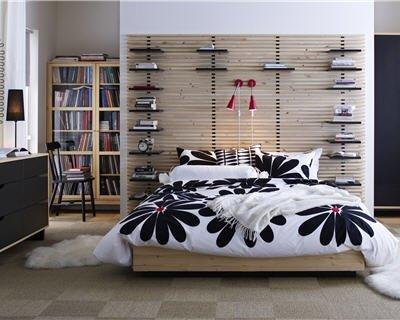 Une t te de lit avec rangements c ma d co le blog d co de clotilde - Dressing derriere tete de lit ...
